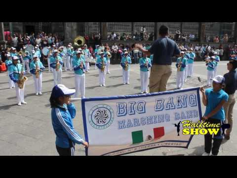 Big Band Marching Band - Marching Bands en Puebla (Mayo 2017)