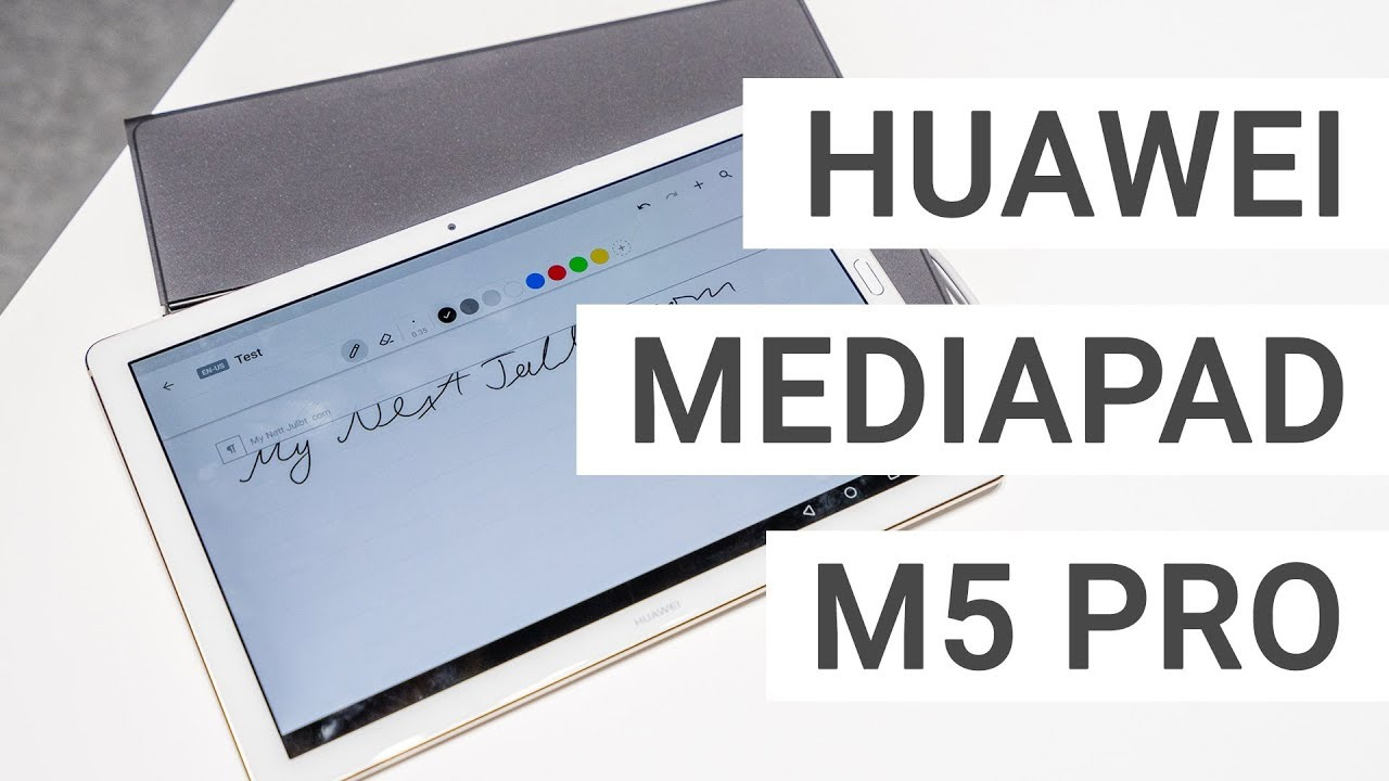 Huawei Mediapad M5 Pro With Keyboard Stylus Ipad Pro Killer With Android Youtube