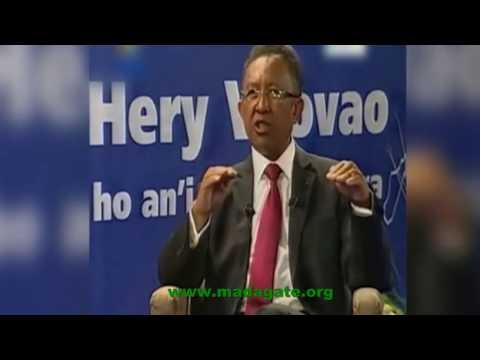 Hery Vaovao sy Olivier Mahafaly mpitondra mpandainga