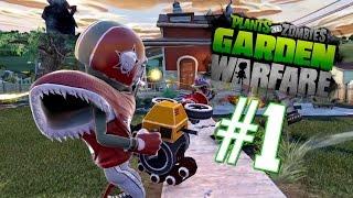 MUERE CEBOLLA MUERE | Plants vs Zombies: Garden Warfare #1