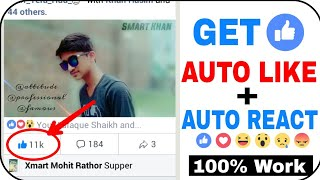 Video How To Get Real Auto Like, Auto React On Facebook Photo and Video😍 download MP3, 3GP, MP4, WEBM, AVI, FLV Oktober 2018