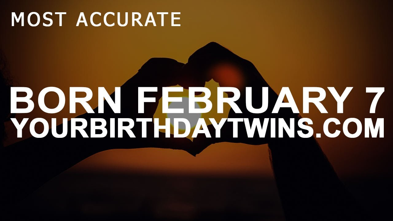 my date of birth 7 february numerology