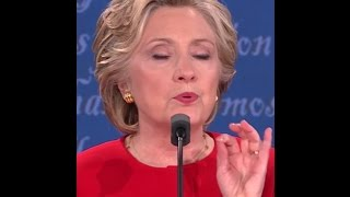 Hillary Clinton Body Double Saga: Who was at the Presidential Debate?  (11th video in the series)