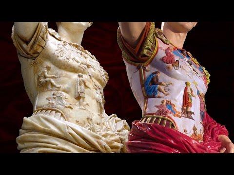 The true colors of Augustus of Prima Porta