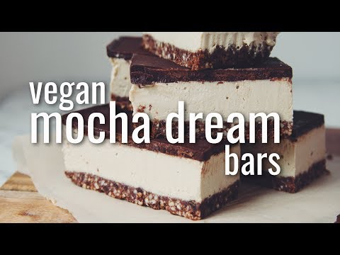 VEGAN MOCHA DREAM BARS | hot for food