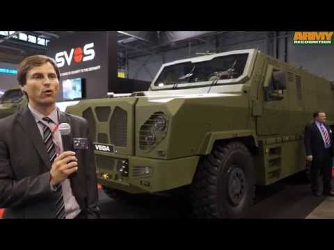 Vega SVOS 6x6 MRAP armoured vehicle personnel carrier IDET 2015 Czech Republic defense industry