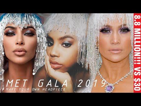 DIY Kim K's and Jlo's 2019 Met Gala Looks - Copycat DIYs
