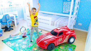 TOY CARS, racing track sets and loops.