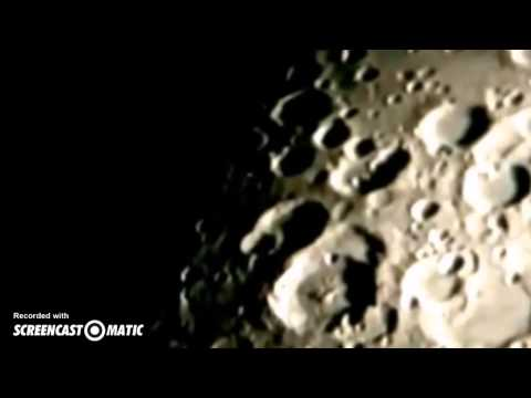 Flying Saucer Leaves Crater At High Speed