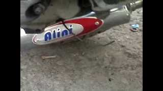 Alini right side racing exhaust - udang pendek