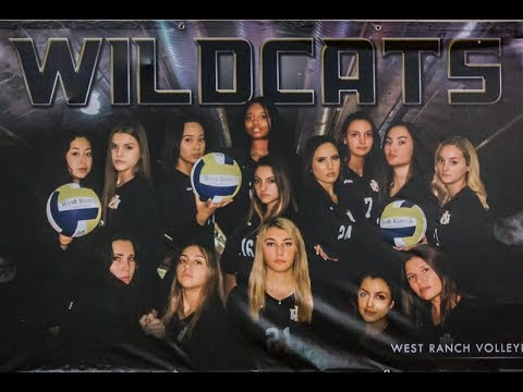 2018 West Ranch Girls Volleyball vs Louisville High School 8-21-18