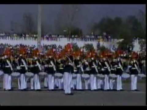 Gran Parada Militar 1992 (1) Escuela Militar