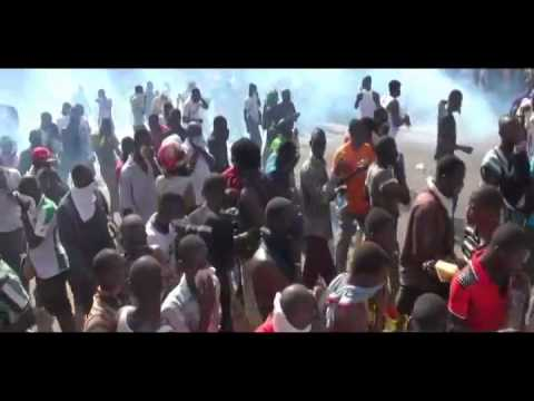 Mass Uprising In Burkina Faso