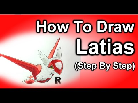 how to draw pokemon groudon step by step