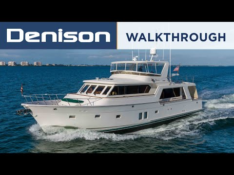 64 Offshore Motoryacht Walkthrough [$1,795,000]