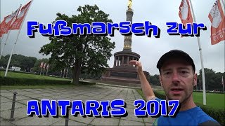 7 Tage Fußmarsch zur ANTARIS 2017