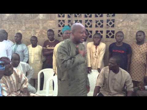 Meeting with Igbeti indigines in Ilorin ,Kwara State