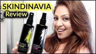 Skindinavia Oil Control Makeup Finishing Spray and Primer Spray REVIEW!