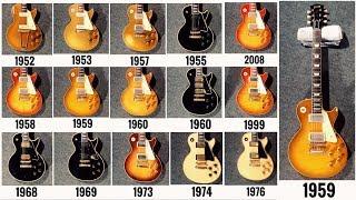 15 Vintage Gibson Les Paul Guitars Comparison! Years 52, 53, 55, 57, 58, 59, 60, 68, 69, 74, 76 etc