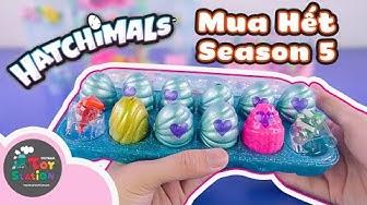 Review hết trứng bất ngờ của Hatchimals Season 5 tìm thấy Limited Edition ToyStation 427