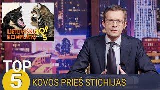 TOP 5 Lietuvos žmonių kovos prieš stichijas | Laikykitės Ten su Andriumi Tapinu