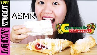 ASMR Cermak Fresh Market' PIES | Crunchy Eating sounds | MUKBANG 먹방 | Eating Show | AomyWorldTUBE