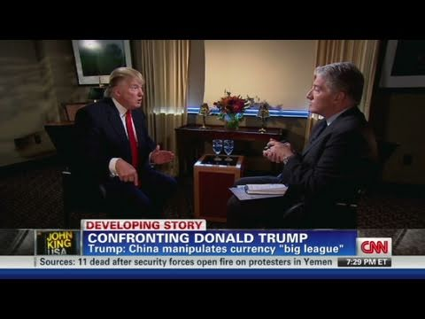 CNN Official Interview: Donald Trump 'Our leader is incompetent'