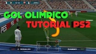 Como Hacer Gol Olimpico Pes todas las versiones ps2