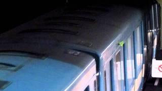 STM Metro Rosemont Station MR-73 on Orange line departing [HD]