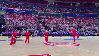 Sydney Kings NBL Half Time Show- Australian Martial Arts
