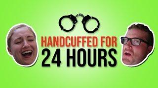 HANDCUFFED 24 HOURS CHALLENGE! Becca And Ryan Show!