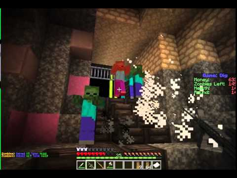 Minecraft ECB Zombies W/ Tybostonbruins11 part 1