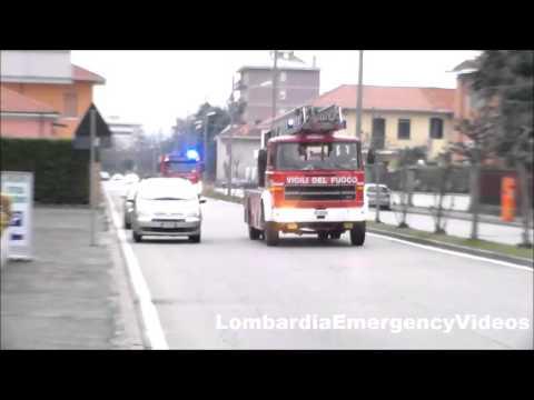 AS/APS/ABP Vigili del fuoco Busto Arsizio in emergenza//Fire brigade in emergency