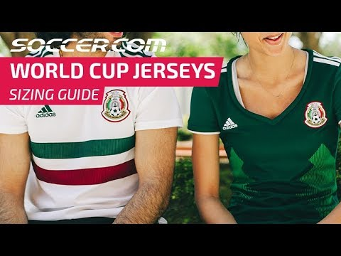 World Cup Jersey Sizing Guide
