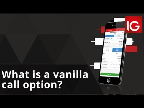 What Is A Vanilla Call Option?