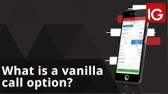 What is a vanilla call option? | How to trade with IG