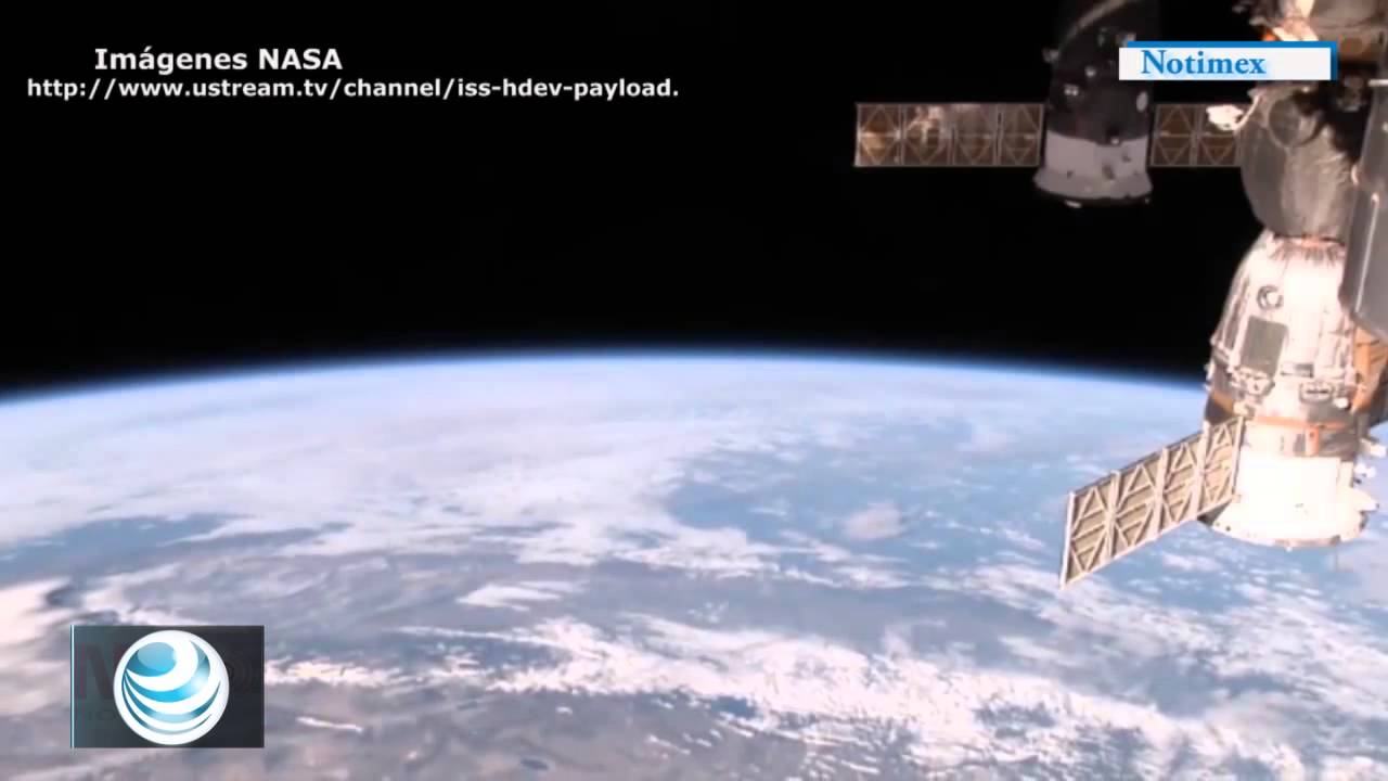 La NASA transmite en vivo imágenes de la Tierra por internet - YouTube