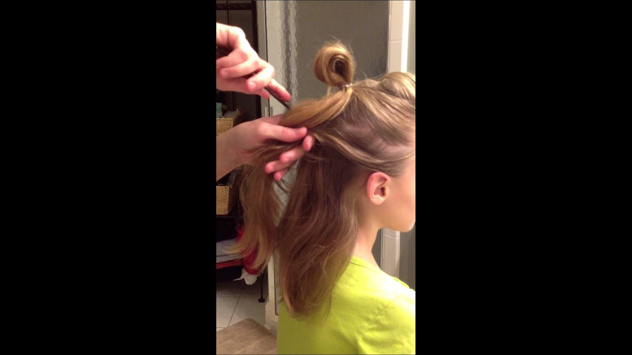 Faux Hawk Hair Tutorial for Dance Competition with The FI