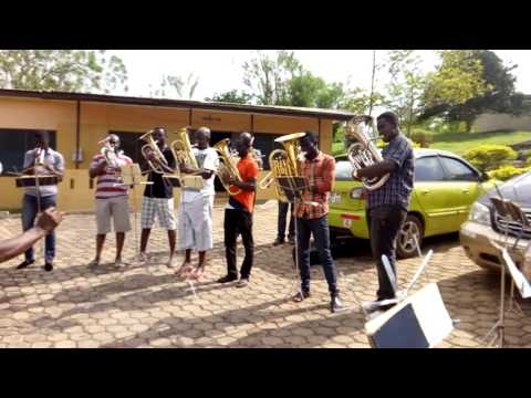 Territorial Band Ghana visit to Salvation Army Poly Clinic