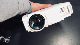 Cheap Home Theater Projector 2000 Lumens Review & Unboxing  by RCA