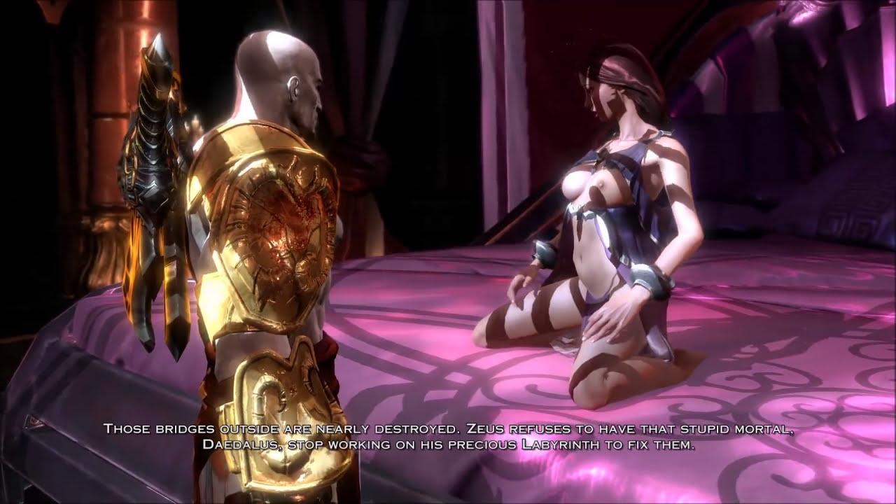 Прохождение god of war 3 секс с афродитой