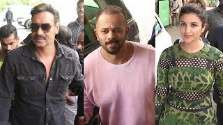 Ajay Devgn And Rohit Shetty GRAND ENTRY At Golmaal Again Trailer Launch