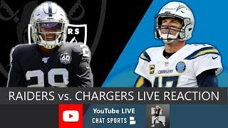 Raiders vs. Chargers Live Streaming Reaction & Updates On Highlights For NFL Thursday Night Football