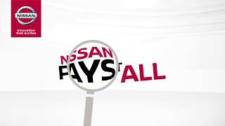 Nissan Pays it all - All 2018 Payments on us