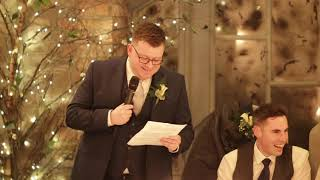 Best Man Speech - Ireland - 2019 12th Jan Ballymagarvey