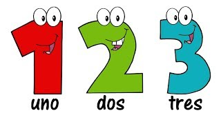 ♫ SPANISH Numbers Song 1-20 ♫ Contar hasta 20 ♫ Comptine des Chiffres en Espagnol ♫ Learn Spanish