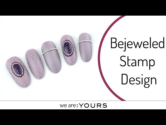 Bejeweled stamping design
