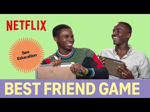The Best Friend Game with Sex Education's Ncuti Gatwa (Eric) & Kedar Williams-Stirling (Jackson)
