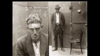 Vintage 1920's Male Mugshots