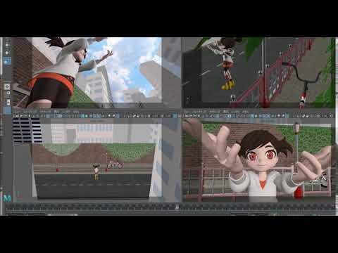 ゼロから始めるMAYAアニメーション 第6回:カメラワーク FIX(固定)